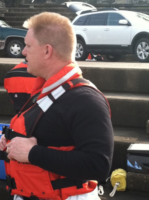 Everyone Wears a PFD OS System Drysuits with Dry Hoods and Gloves, Ocean Reef Full Facemasks With Dual Channel Wireless Comms